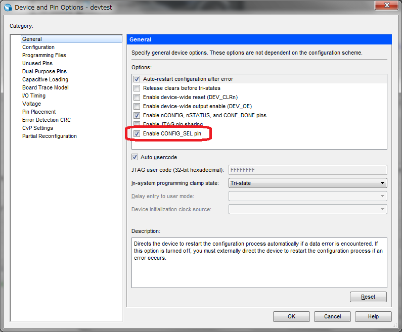 MAX10 Serial Config Updater